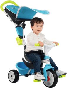 Ce tricycle pour bébé protégera votre enfant des rayons du soleil selon les tests comparatifs.