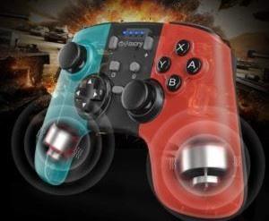 Manette ergonomique pour jeux vidéo.