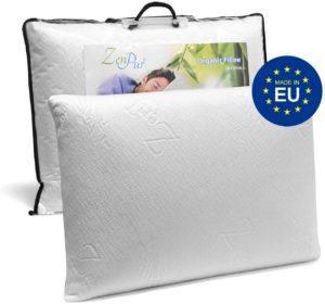 L'oreiller à mémoire de forme maintient la colonne vertébrale dans une position horizontale et optimale pour votre confort.