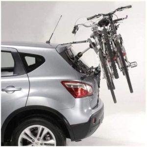 Remorque arrière de vélos pour véhicule