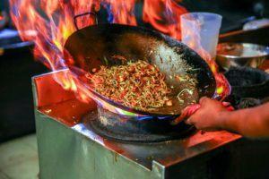 Ustensile de cuisine d'origine asiatique