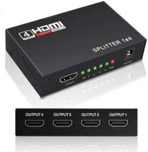 équipement multiprise HDMI compatible 4K