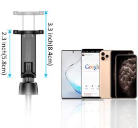 La plupart des perches à selfie fonctionnent avec l'option Bluetooth de votre téléphone portable. Une option qui est idéale, d'après les avis des utilisateurs lors de leurs tests