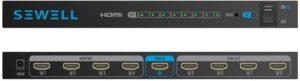 Répartiteur HDMI doté de huit sorties pour la diffusion d'image et de son