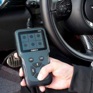 Appareil de contrôle général de l'état du véhicule.