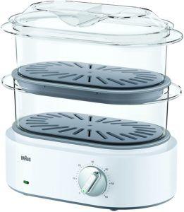 Appareil de cuisson électrique avec couvercle translucide.