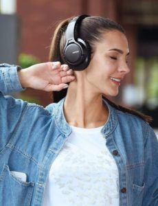 Casque audio Bluetooth comportant un micro intégré