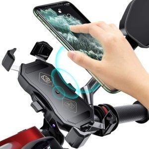 Ce modèle de support téléphone moto peut recharger votre téléphone