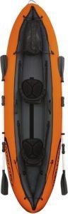 Kayak de deux places confortables avec une excellente stabilité directionnelle.