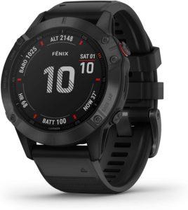 La Fenix 6 Pro de Garmin est une montre gps qui a fait ses preuves