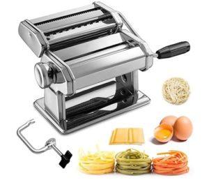 La machine à pâtes existe en modèle manuel ou en modèle automatique.
