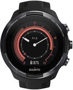 Le cadran d'une montre gps varie d'un modèle à l'autre