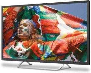Téléviseur LED offrant des images et un son de grande qualité.