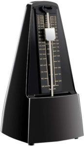 Un métronome Rayzm noir.