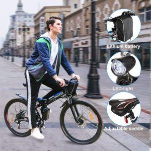 Vélo électrique pliant pour adultes.