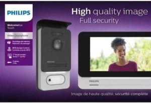 Visiophone sans fil tactile doté d'un niveau de sécurité
