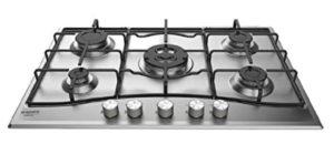 la plaque de cuisson à gaz est très simple d'utilisation