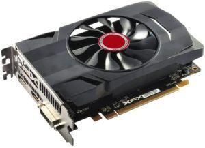 Une carte graphique AMD avec 4 Go de mémoire GDDR5