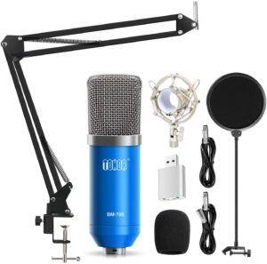 Un micro pour ordinateur parfait pour faire des podcasts