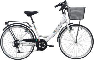 Ce vélo VTC a un style rétro
