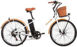 Un vélo VTC électrique