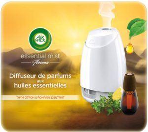 Ce diffuseur de parfum fonctionne avec des huiles essentielles