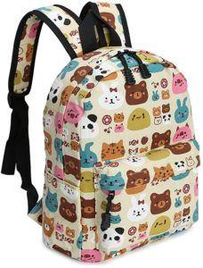 Tous les aspects du sac à dos pour enfant Zicac multicolore.