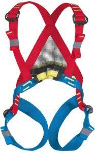 Ce harnais permet un réglage automatique de ses bretelles