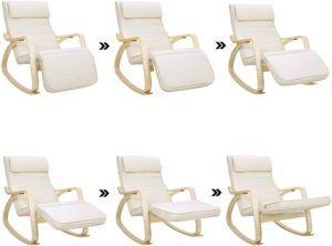 Cette chaise sert aux mamans pour allaiter leur bébés