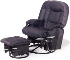 Ce fauteuil allaitement permet l'allaitement et la relaxation