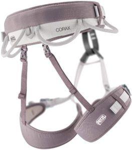 Cet accessoire d'escalade est doté de deux sangles pour une meilleure sécurité