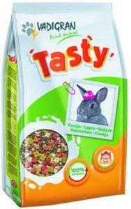 Cet aliment pour lapin est composé de plusieurs ingrédients
