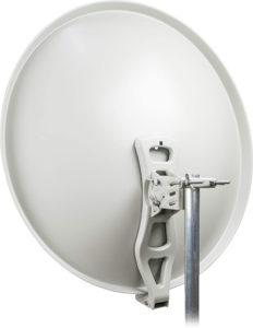 Parabole satellite en aluminium durable