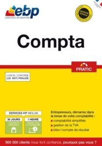 Aperçu du logiciel de comptabilité EBP Compta Pratic dans un comparatif