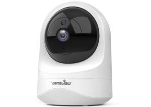 Caméra de surveillance dotée d'une vision infrarouge