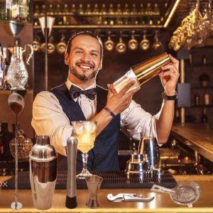 Ce kit shaker cocktail conviendra parfaitement pour les professionnels