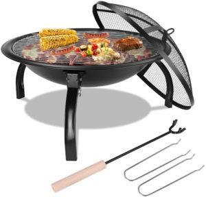 Un autre brasero qui vous servira de barbecue