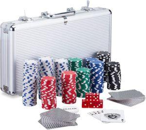 Une autre mallette de poker de Relaxdays, plus professionnelle