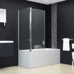 Une cabine de douche à monter directement sur une baignoire
