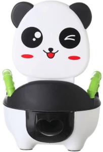 C'est un pot pour bébé au design BD original et moderne