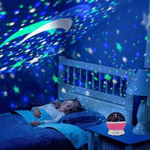 Le projecteur étoiles est le meilleur ami des enfants pour la nuit.