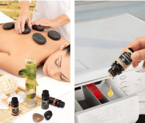Les huiles essentielles peuvent être utilisées pour de nombreux usages