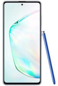 La taille de l'écran d'un smartphone Samsung dans un comparatif gagnant