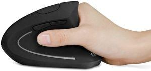 C'est une souris ergonomique sensible et précise