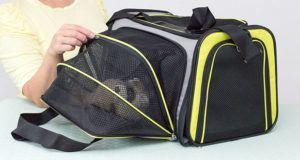 Quel est la fréquence d'usage du sac de transport chien ?