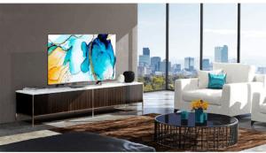 """C'est une TV connectée 55"""" Ultra HD"""
