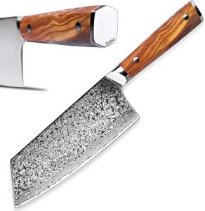 Les couteaux japonais en acier Damas sont les meilleures qualités