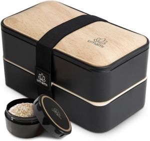 C'est une lunch box design et pratique