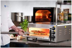 Ce four à pizza conviendra aussi bien pour un usage domestique que professionnel.