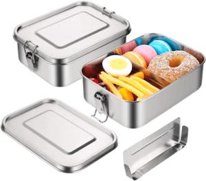 C'est une lunch box avec un compartiment amovible